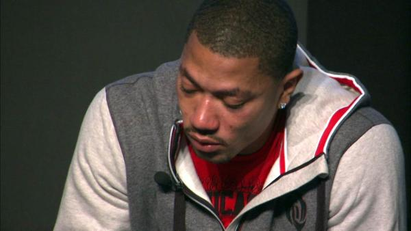 derrick rose crying adidas